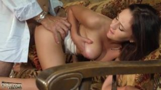 School Doll Enjoys How Older Stud Frigs Her Coochie And Nails Her Gonzo