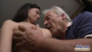 75 Yo Grandfather Smashes Youthful Sewer Lady