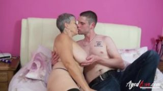 Agedlove Huge-chested Savana Hard-core Aged And Youthful