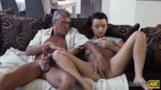 Daddy4k. Boy With Num-nums Doesnt Pay Attention How His Honey Has Molten Romp