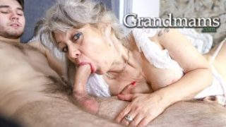 Whorey Grandma Heads For A Lad